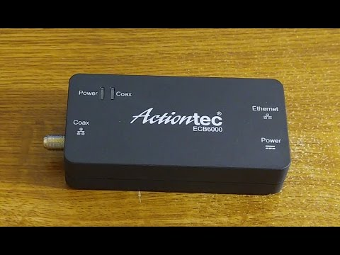 actiontec ecb6000 moca 2 0 network adapter review