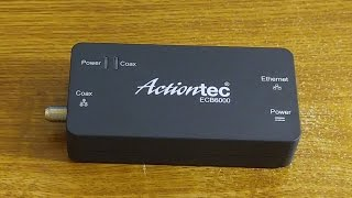 ActionTec ECB6000 MoCA 2.0 Network Adapter Review