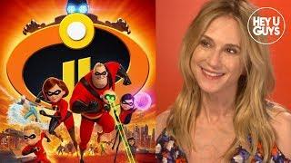 Incredibles 2 - Elastigirl Holly Hunter and director Brad Bird on Pixar's BIG Superhero sequel
