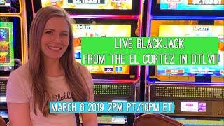 Blackjack Livestream!! March 6 2019