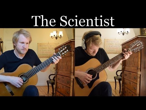 Coldplay  The Scientist Acoustic Classical and 12string Guitar   Jonas Lefvert