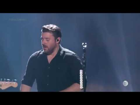 Chris Young and Cassadee Pope perform Think of You - 2016 iHeatCountry Festival