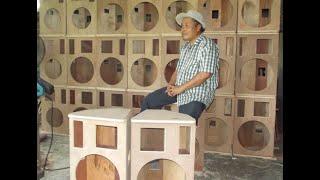 สาธิตการทำตู้ลำโพง โดย ช่างใบ