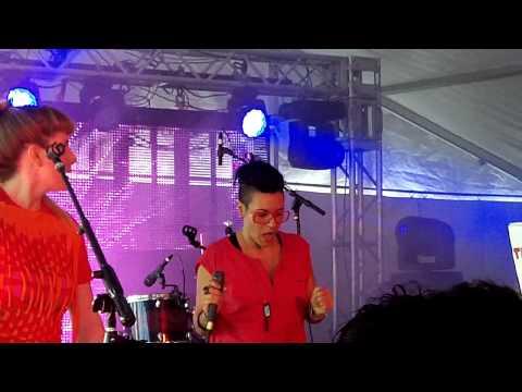 JD Samson - Everyone ft Hi Fashion LIVE