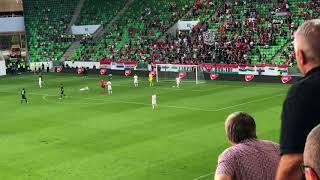 Hungary 1 vs 2 australia ; 2 own goals in last 6 min