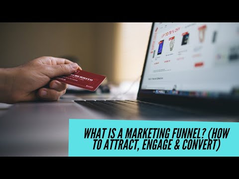 The Basic Online Marketing Funnel: Attract Engage Convert 5tips