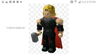 Roblox: Thor In Roblox