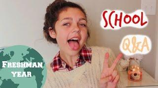 School Q&A | Freshman Year ♡ Thumbnail