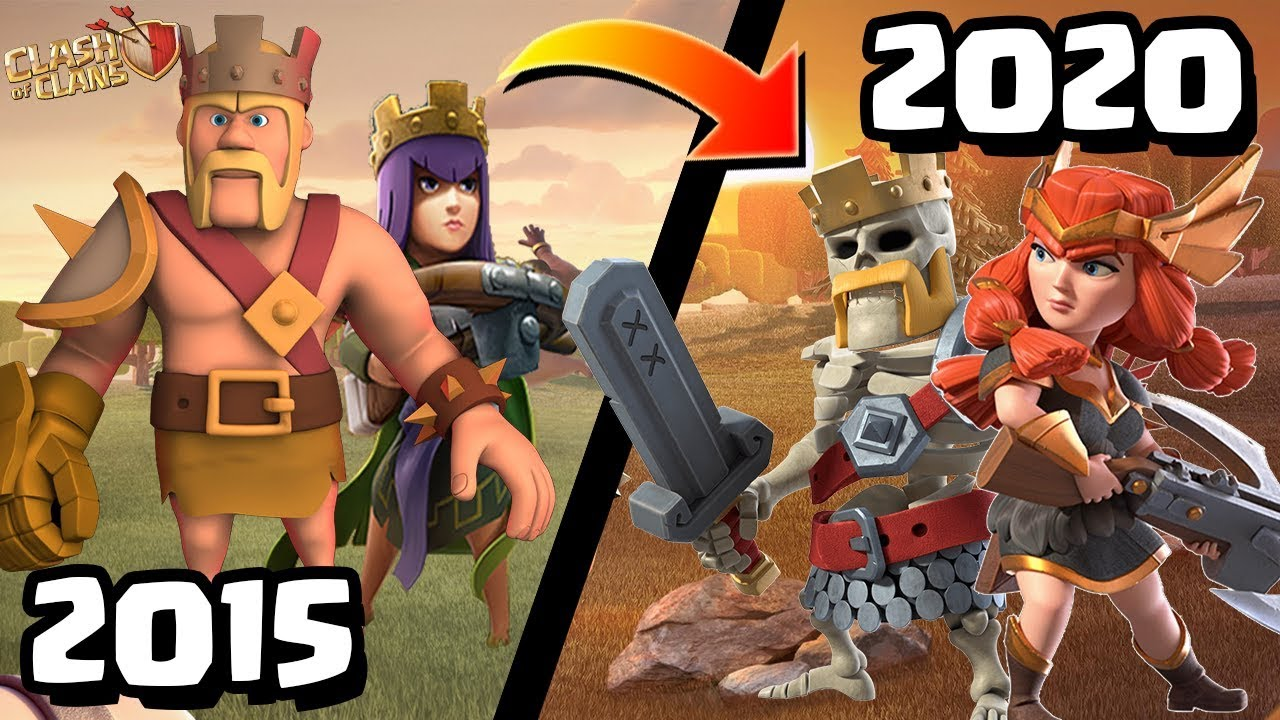 Clash of Clans Rewind - What's Changed? | Playing CoC in 2015 vs 2020 (Old  Clash Vs. New Clash 2020) - YouTube