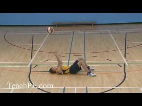 Basketball Drill - Shooting - Lay Back