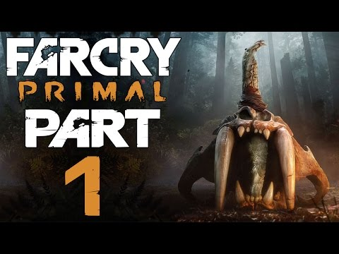 """Far Cry Primal - Let's Play - Part 1 - """"10,000 BCE: The Hunt Begins"""""""
