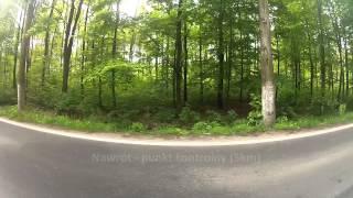 Wizualizacja trasy - Półmaraton Bytomski - Lewa strona