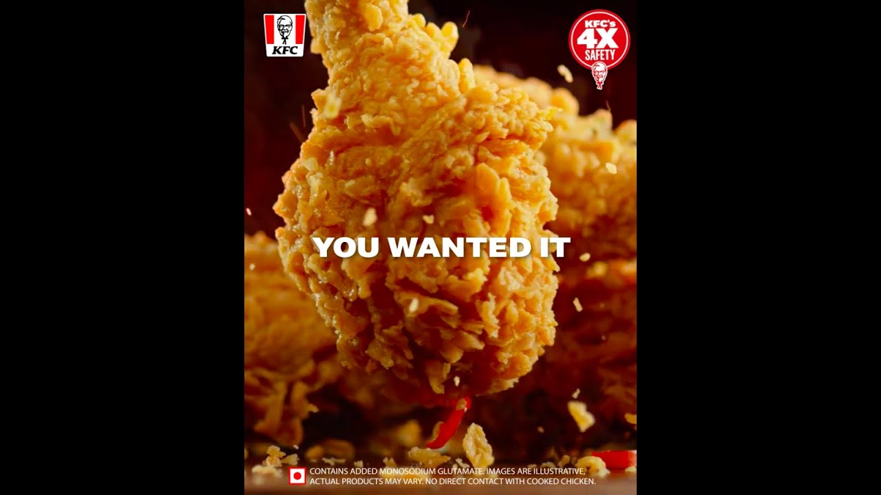 KFC Leg piece bucket