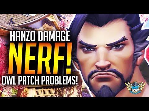 Overwatch - Hanzo NERF! Storm Arrows NERFED! / OWL Patch Problems!