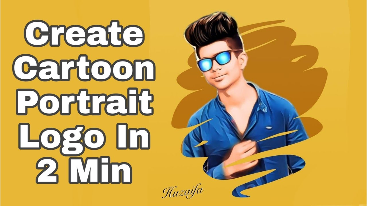 New Portrait Cartoon Photo Editing | New Vector Art Photo Editing | Mobile Photo Editing Tutorial