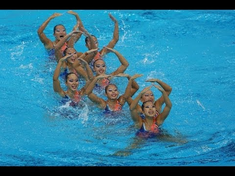 Synchronised Swimming (Team Tech) Gold - Singapore