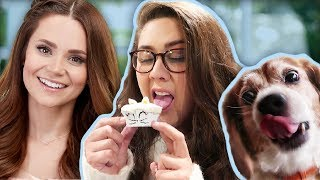 tasting-dog-cupcakes-monday-vlog