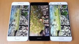 BENCHMARK - Meizu PRO 6 vs Xiaomi Mi 5 vs Huawei P9 | Antutu (Snap 820 vs Helio X25 vs Kirin 950)