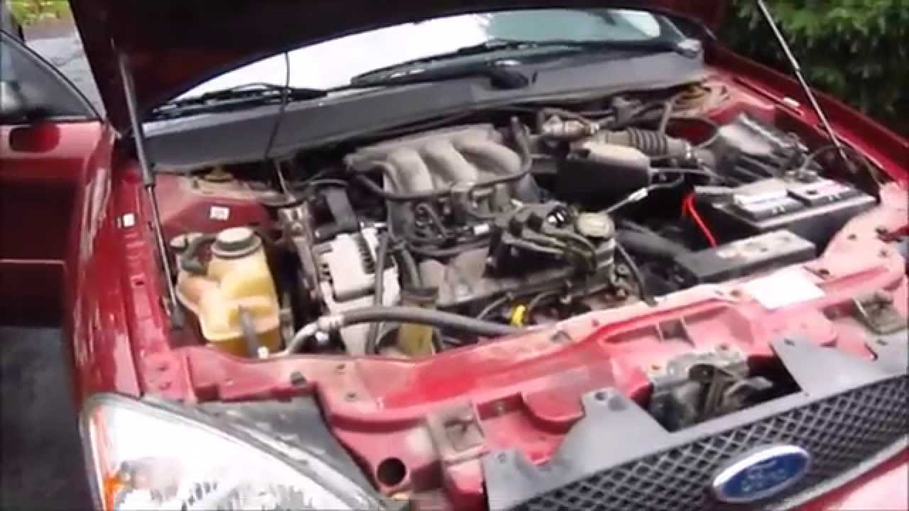 home 2006 ford 500 engine diagram 2006 ford taurus starter replacement youtube [ 1280 x 720 Pixel ]