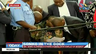 Governor Mike Sonko in court for plea and bail hearing