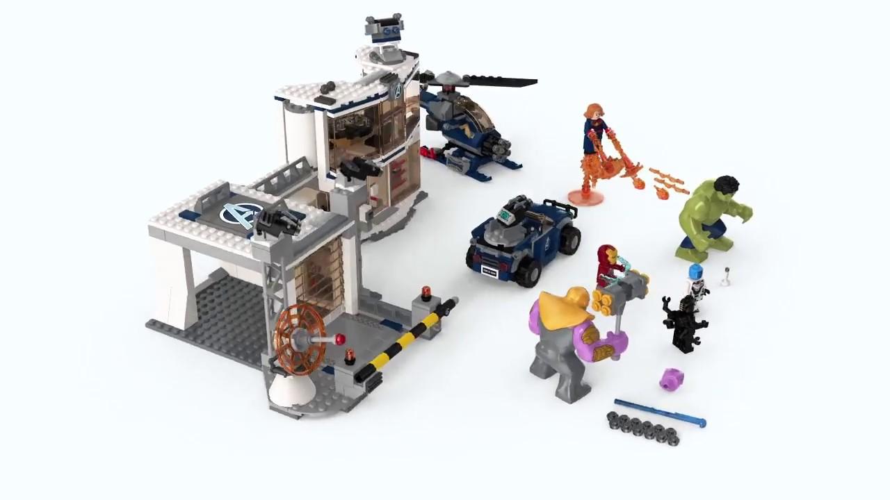 Lego 76131-Marvel Super Heroes-Avengers-Avengers-Quartier Général