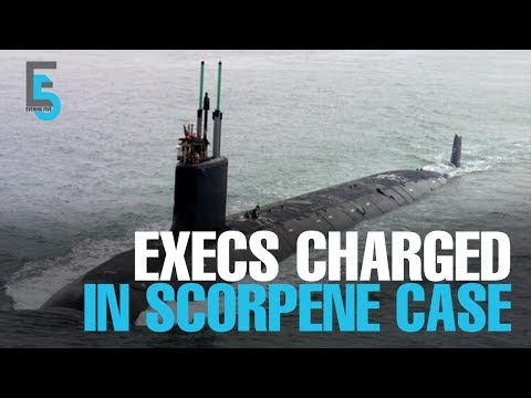 EVENING 5: Two charged over Scorpene sub deal
