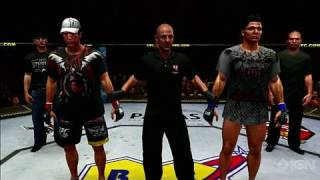 UFC Undisputed 2010 PlayStation 3 Gameplay - Suave