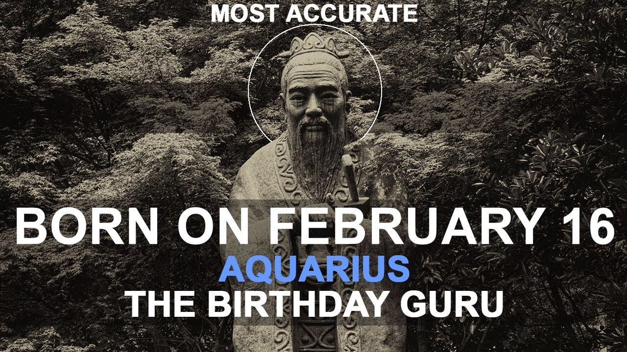 february 16 born astrology