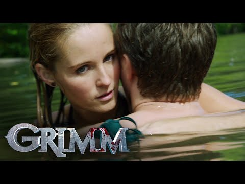 A Mermaid-like Wesen Attacks Underwater | Grimm