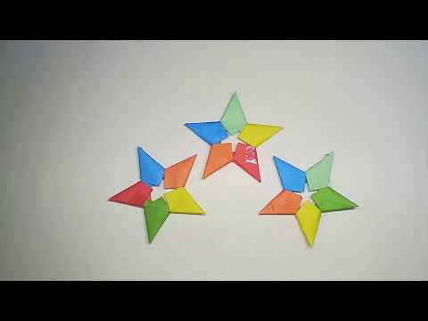 How to make simple and easy paper star | DIY Paper Craft Ideas