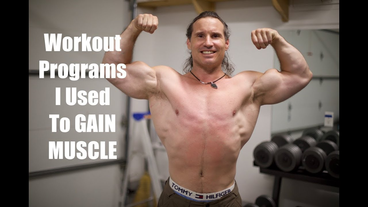 Bodybuilding Training Programs And Techniques I Ve Used Over The Years Youtube
