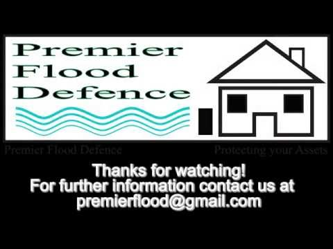 Flood defence barrier - From Premiere Flood Defence LTD