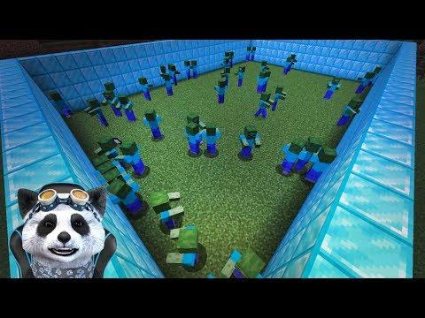 OVIDIU vs 50 DE ZOMBIE | Minecraft