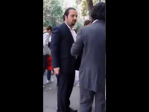 Saad Hariri lookalike in London