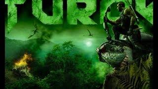 Turok прохождение часть 3. Убийство динозавров ножом, дробовиком.