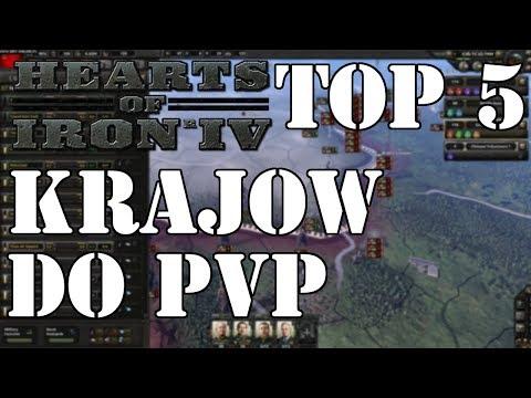 Hearts Of Iron 4 Top 5 Krajów Do PVP