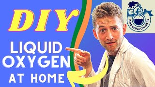 Liquid Oxygen DIY. (But you shouldn't) Condense liquid oxygen from the air!