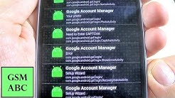 """Bypass ERROR in """"Type Email and Password"""" on Google Account Manager   Remove FRP on Samsung"""