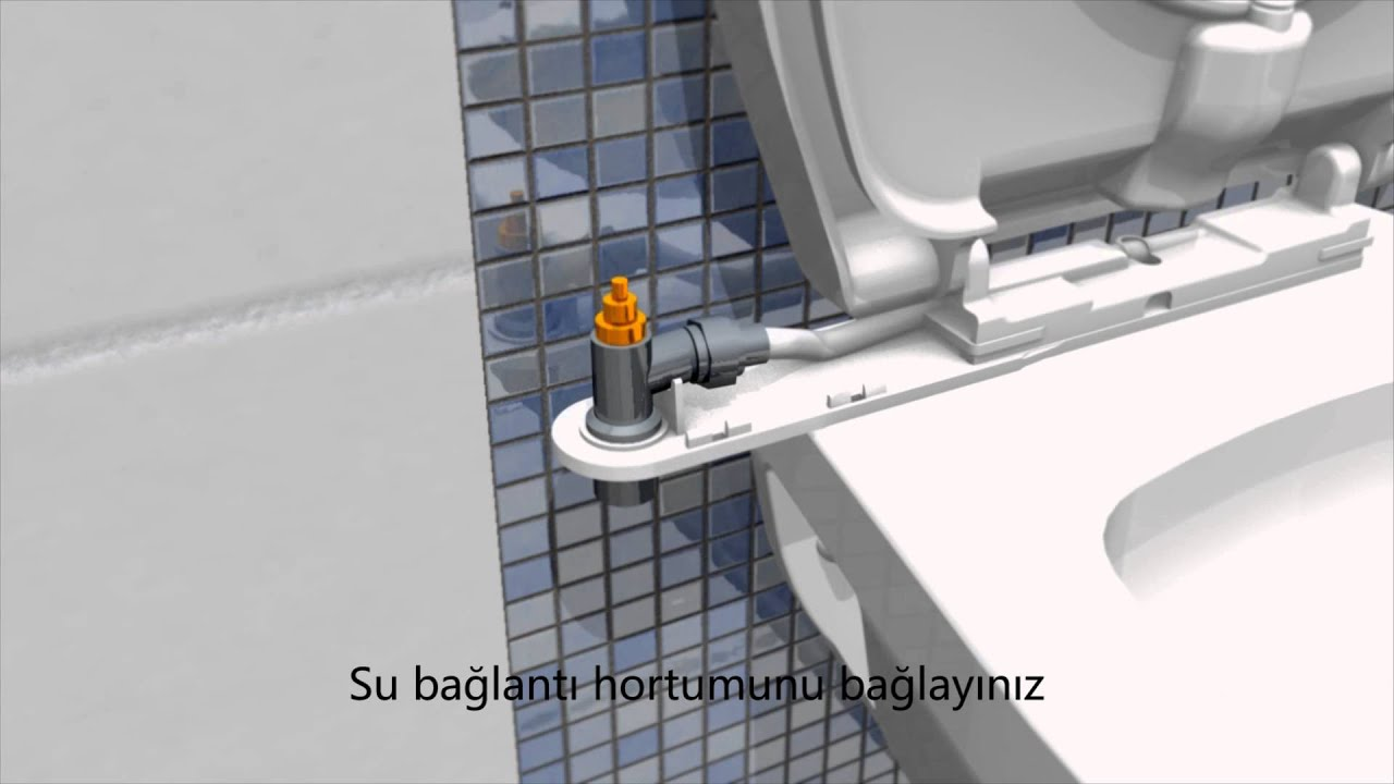 Wc Dusche Bidet Taharet Description And Instructions Turkish Youtube