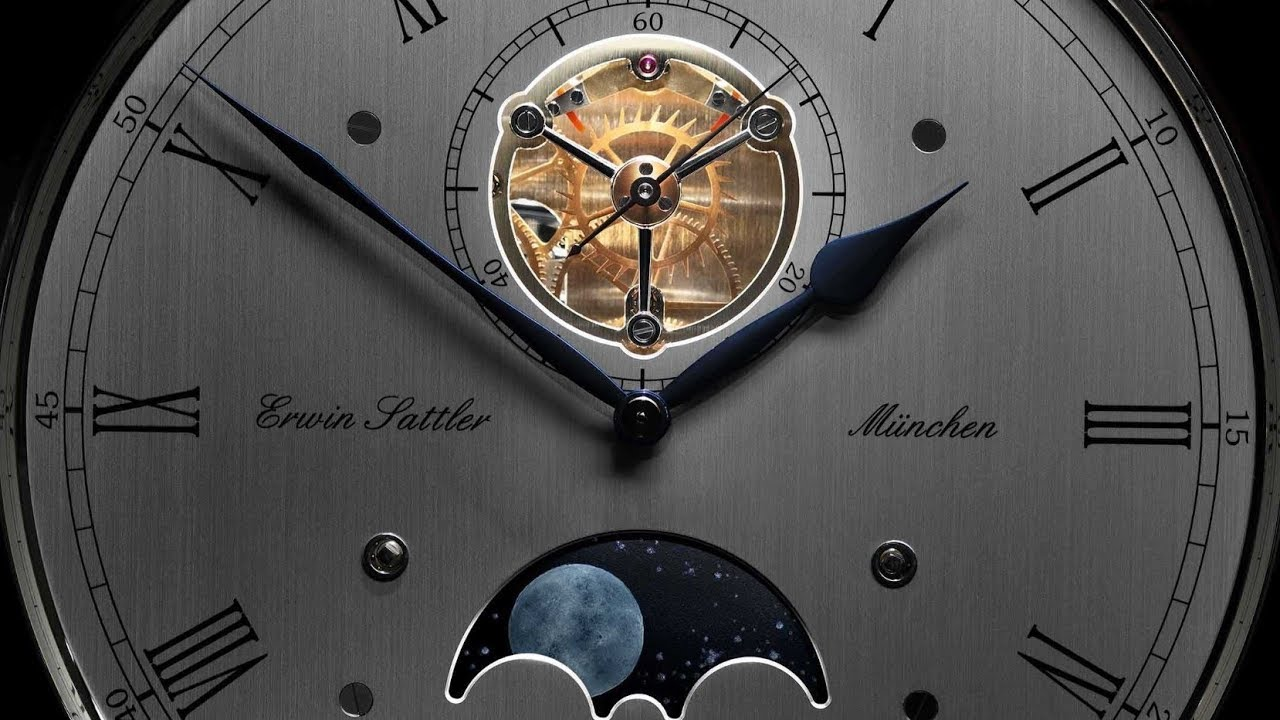 Erwin Sattler Troja Sonata M - Seconds Precision Pendulum Grandfather / Longcase Clock