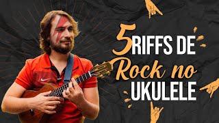 5 Riffs de Rock no Ukulele (com TAB) - rock and roll music ukulele chords