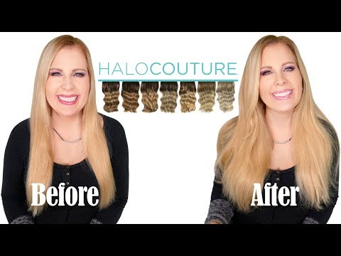 HaloCouture Hair Extension | Demo \u0026 Review