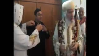 قداس رسامة القس جوناثان بيد سيدنا صاحب النيافة الانبا شاروبيم 27/11/2016