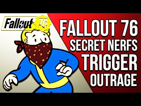 FALLOUT 76 STEALTH NERFS TRIGGER MASSIVE OUTRAGE: Secret Updates & Patch Notes - Fallout 76 News