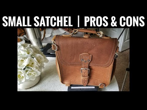 Saddleback Leather Bag Comparison | Small Leather Satchel in Tobacco | Pros and Cons