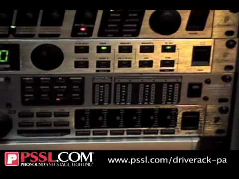 dbx DriveRack-PA EQ & Loudspeaker Control System