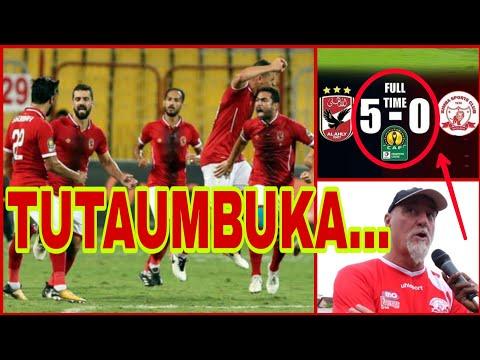 Al Ahly wa Simba SC Wafika Tanzania kibabe, Simba wakumbuke 5 - 0
