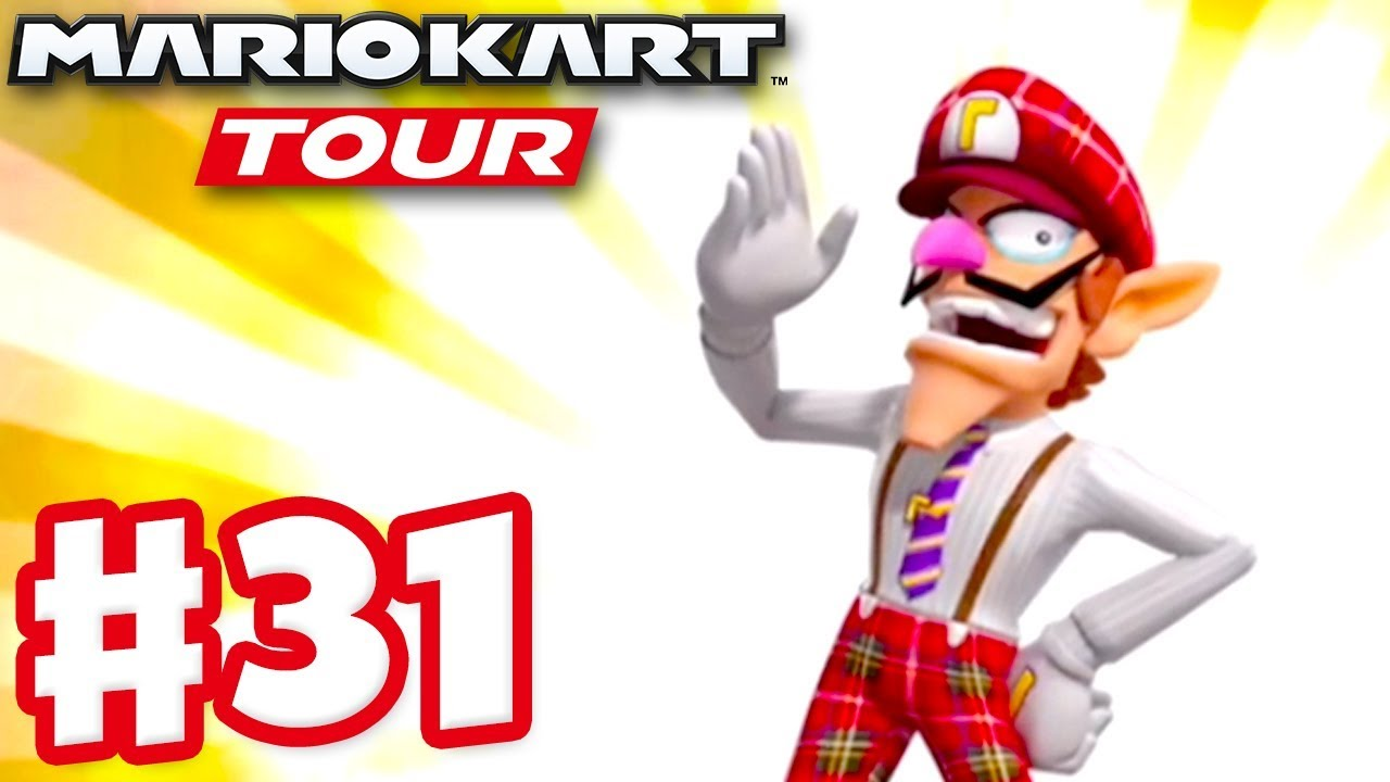 Bus Driver Waluigi London Tour Ranked Mario Kart Tour Gameplay Part 31 Ios