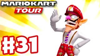 Bus Driver Waluigi! London Tour Ranked! - Mario Kart Tour - Gameplay Part 31 (iOS)