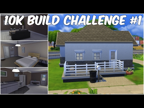 10K Build Challenge #1 | The Sims 4 Speed Build |